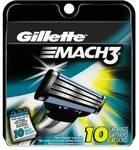 10x Gillette Mach3 Razor Blade Refills USD $13.09 (~AUD $17.89) Delivered from Amazon