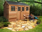 Timber Garden Shed $220 off The Maple Shed + Free Keter Storage Box ($180 Value) for $2865 + $130 Delivery @ Landera