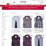 T.M. Lewin - 4 Shirts for $120 with Free Delivery