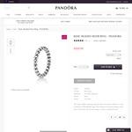 Basic Beaded Silver Ring $30 @ Pandora