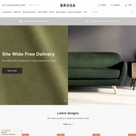 Free Delivery Sitewide until 9 July at Brosa Furniture