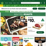 $10 off $50+ Spend @ Woolworths Online