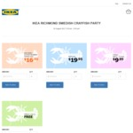 IKEA Richmond VIC Swedish Crayfish Party $19.95/ $16.95 (Members) 24 Aug