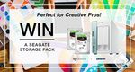 WIN a Seagate Storage Pack, Perfect for Creative Pros!