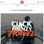 [TRAVEL FRENZY] Crumpler: up to 40% off Bags and Accessories