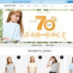 Up to 70% OFF Men & Women T-Shirts Sale from US$6.99 + Free Shipping @ ZAN.style