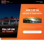 Win 1 of 40 $250 Fuel Cards from Kubota