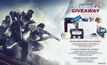 Win a Limited Edition Destiny 2 PS4 Pro Bundle Worth $640 or 1 of 4 G FUEL Prize Packs from Gamma Enterprises