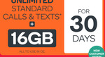 Extra Large Plan 16GB Data (or Any Other) $4.90 (Save $45) for First 30 Days + Free Kogan SIM Card (Save $2) @ Kogan Mobile