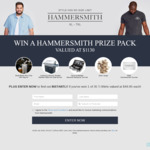 Win a BBQ/Hammersmith Prize Pack Worth $1,130 or 1 of 35 Hammersmith T-Shirts from Brand Collective Pty Ltd