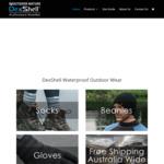 10% OFF DexShell Waterproof Socks, Beanies, Gloves, Cycling Overshoes & Skull Cap @ dexshellaustralia.com.au
