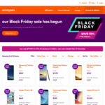 Amaysim Black Friday Sale - Online Store (10% off)