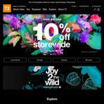 T2 Tea - 10% off Storewide