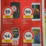 Vodafone Pocket Wi-Fi 4G R216 + 5GB $29, Vodafone $50 Starter Kit $20, Nokia 3310 $44, Nokia 3 $149 @ Coles