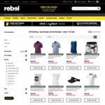 30% off Nike, adidas & Under Armour Clothing @ Rebel Sport