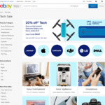 20% off 28 Stores (Dell, Allphones, Futu, Ted's, Videopro, amaysim + More) @ eBay