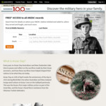 FREE Access to All ANZAC Records from Now until Midnight 25/04/18 @ Ancestry