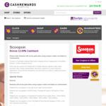 Scoopon Bonus 12.00% Cashback (was 2.5%) @ Cashrewards