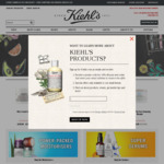 15% off Sitewide Free Shipping over $35 + Extra 10% off  @ Kiehls