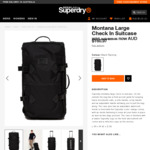 Up to 30% off (Montana Large Check-in Suitcase $160.97) + Free Express Shipping @ Superdry