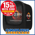 AMD Ryzen Threadripper 1950X $1019.15, Ryzen 5 1600 $186.15 (OOS) + $15 Delivery (or $0 Delivery with eBay Plus) @ CA eBay