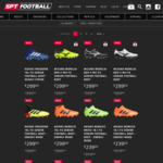 Up to 60% off Football Boots, adidas, Nike, Puma & More @ SPT Football
