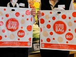 30 Flybuys Points or Woolworths Points Per Day When You Bring Your Own Bags @ Coles (No Min Spend) & Woolworths ($5 Min Spend)