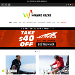 Take $40 off Altra Running Shoes + Free Compressport Socks @ Winning Arena