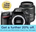 [Refurbished] Nikon D7200+18-55mmVR $863.08, D810 $2,311.08 and More Delivered @ Ryda-Online eBay