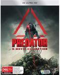 Predator - 3 Movie Pack Collection 4K UltraHD Blu-Ray $34.98 @ JB Hi-Fi