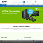 """Win a 3XS System, HTC VIVE or AOC AGON 25"""" Gaming Monitor from Scan"""