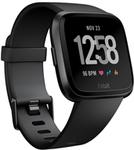 Fitbit Versa Smartwatch - Black Aluminium $269 (Was $299.95) @ Myer