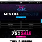 40% off Sitewide @ yd. Australia