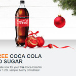 Free 1.25L Coca-Cola No Sugar @ Woolworths (In store)