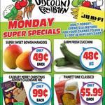 [QLD] Sweet Bowen  Mangoes $0.49 each, Zucchini $0.48 P/kg, Panettone Classico $5.99 @ Northside Discount Fruit Barn (Rothwell)