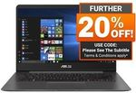 """Asus Zenbook UX430UN 14"""" 8th Gen i7 512GB SSD 16GB MX150 $1,559.20 (+ $100 Cashback by Redemption) @ Shopping Express eBay"""