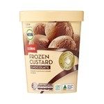 Frozen Custard Chocolate Ice Cream 1L $2.35 @ Coles (In-Store Only)