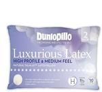Dunlopillo Luxurious Latex High Profile Pillow Twin Pack $159.95 (Was $319.95) @ David Jones