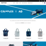 25% off The Australian Open 2019 Collaboration Bags @ Crumpler