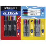 Artline Supreme 22 Piece Value Pack $9 (Was $25) @ Officeworks (Clearance In-Store Only)