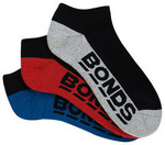 Bonds Men's Low Cut Sport Socks 3 Pack $5 + Delivery (Free for Members) @ Bonds
