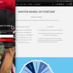 Winter Wheel of Fortune - Free Cycling Gear or Discount Codes from ASG The Store AU