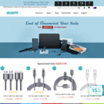 EOFY Sale Sitewide: Buy 2 Items for 10% off, 3+ for 15% off (E.g. 6.6ft/2m USB 3.0 to USB-C Cable $13.99 & More) @ ESR Gear