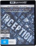 4K Movies - Inception, The Prestige, Batman Begins, Harry Potter 6, 5, 7.2 - $11.49 Each Delivered @ Beat The Bomb via Amazon AU