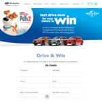 Win A Trip to Universal Studios Hollywood for 4 from Subaru