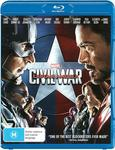 Captain America: Civil War Blu-Ray $9.09 + Delivery (Free with Prime / $49 Spend) @ Amazon AU