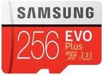 Samsung EVO Plus 256GB Micro SD Card US $37.29 (~AU $54.42) Delivered @ Joybuy