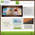 $35 off Bespoke Handmade Photobooks @ Clickonprint