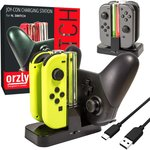 Nintendo Switch Pro Controller/Joy Con Charging Dock $21.99 + Delivery ($0 with Prime/ $39 Spend) @ Orzly Accessories Amazon AU