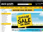 Dick Smith 3 day garage sale